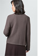 Strick-Cardigan in Taupe