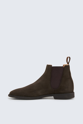 Chelsea-Boots by Ludwig Reiter in Braun