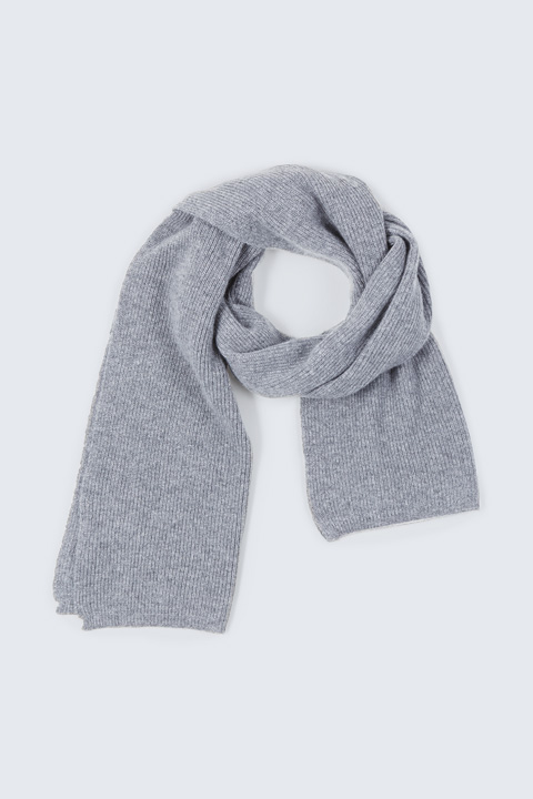 Kaschmir-Schal in Grau