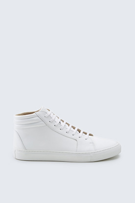 Hightop Sneaker  in Weiß