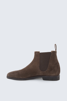 Chelsea Boot by Ludwig Reiter in Dunkelbraun