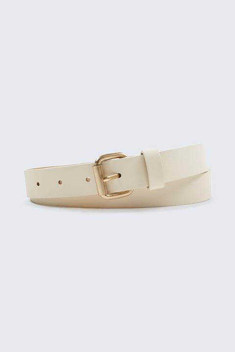 Gürtel in Weiß
