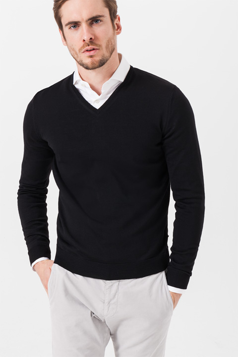 Pullover Marcello in Schwarz