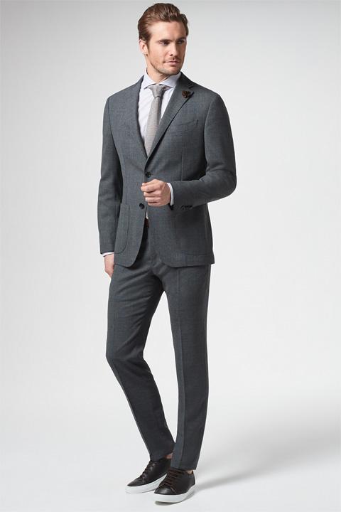 Baukasten-Anzug Zero-Peso, dunkelgrau