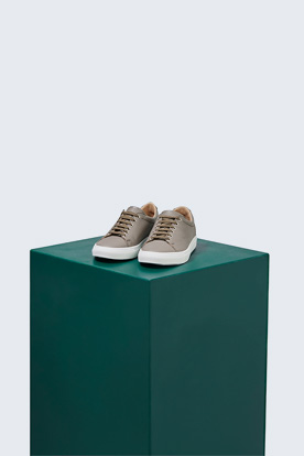 Sneaker Tennis by Ludwig Reiter in Taupe