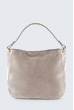 Hobo-Bag in Taupe