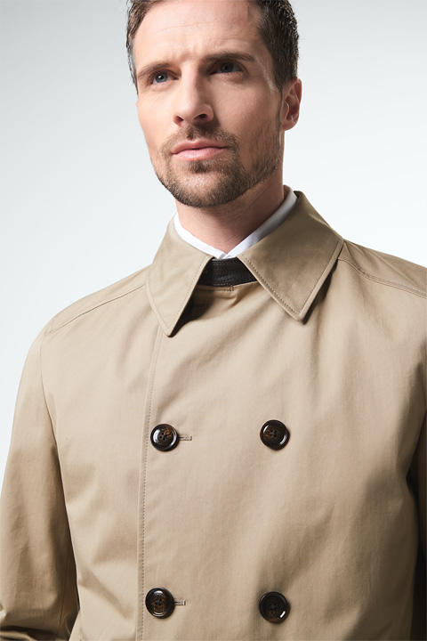 Trenchcoat Pogno in Beige