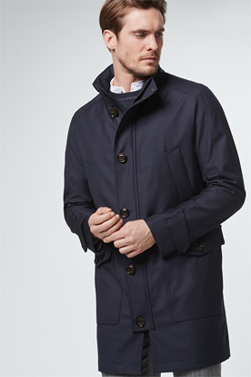 Parka Bario in Navy