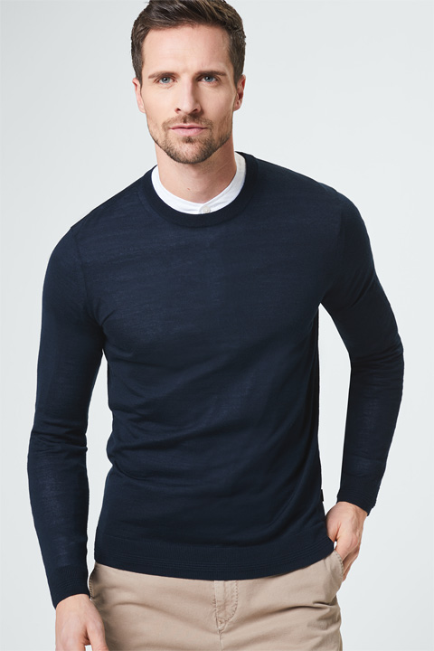 Pullover Catello in Navy