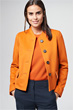 Blazer in Orange