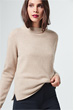 Cashmere-Pullover in Beige