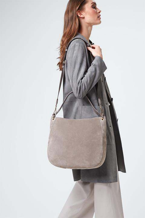Hobo-Bag in Taupe