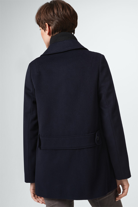 Caban-Jacke in Navy