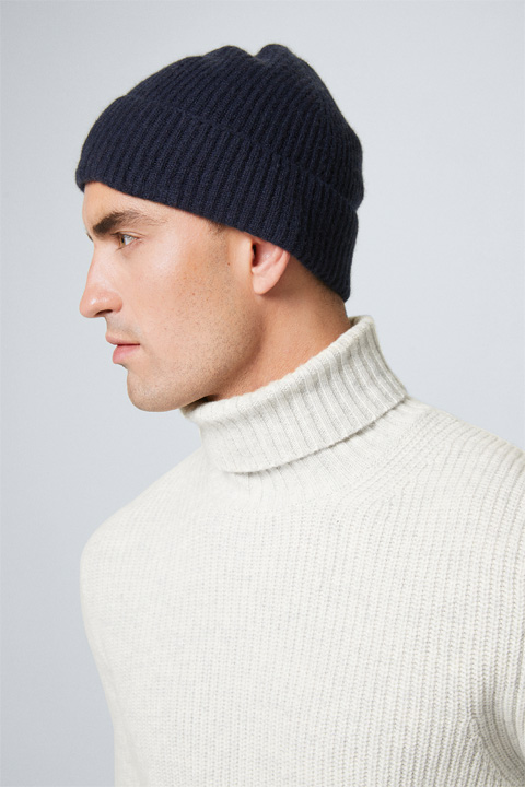 Cashmere-Mütze Can in Navy