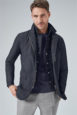 Jacke Trevi in Navy