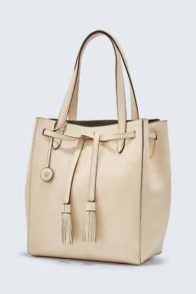 Shopper in Creme