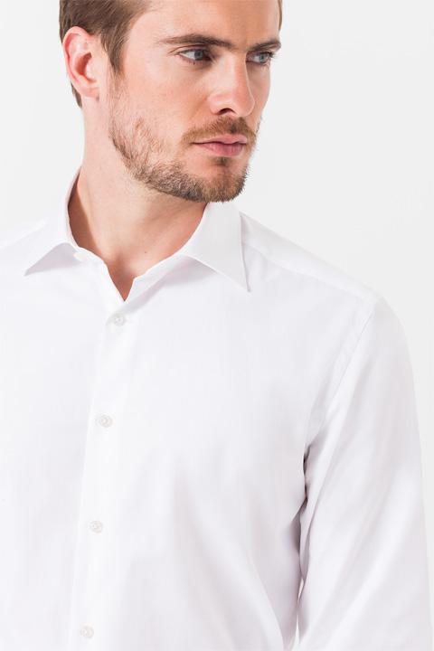 Oxford-Hemd Torri in Weiß