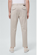 Baumwoll-Stretch-Chino Fiano in Hellbeige