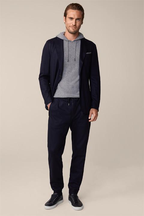 Vasto Ferol Modular Suit in Dark Blue