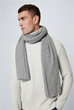 Cashmere-Schal Can in Grau