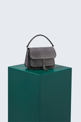 Satchel Bag in Graphit