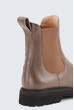 Chelsea Boot by Unützer in Taupe
