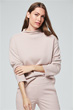 Cashmere-Pullover in Rosé
