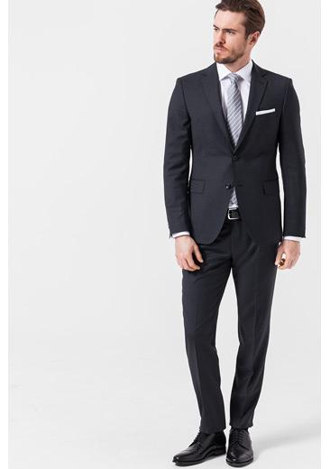 Baukasten-Anzug, dunkelgrau