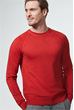 Rundhals-Pullover Marcio in Rot