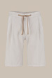 Frosted Cotton Shorts Cortino in Hellbeige