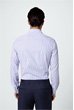 Smart-Shirt Lano in Blau gestreift