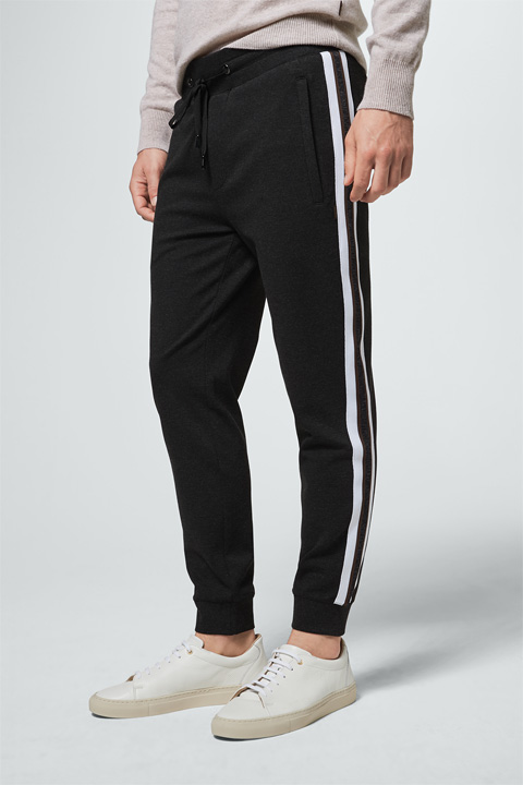 Joggpants Sesto in Anthrazit