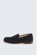 Veloursleder-Loafer by Ludwig Reiter in Navy