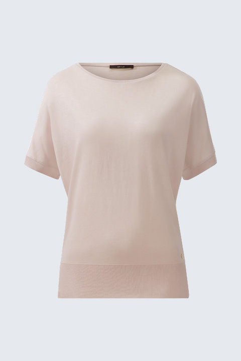 T-Shirt in Pastellrosé