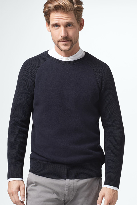 Pullover Aaron in Navy
