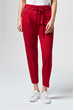Woll-Jersey Hose in Rot