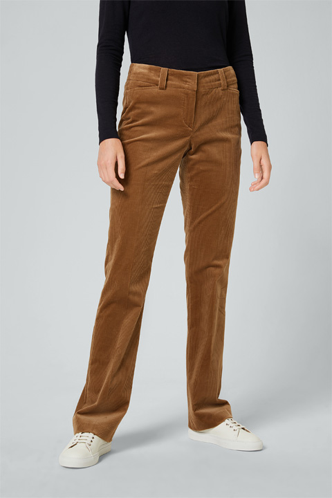 Cord-Hose in Camel