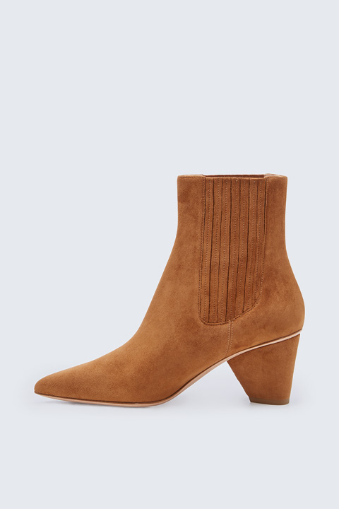 Bootie by Unützer in Camel