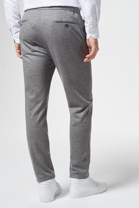 Jersey-Hose Ferlos in Grau