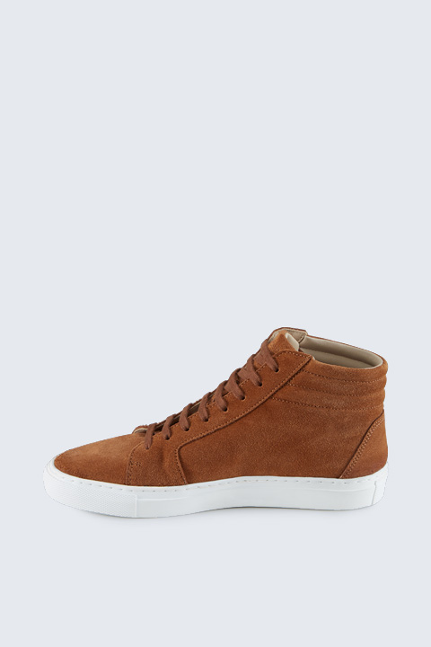 Hightop Sneaker by Ludwig Reiter in Cognac