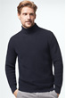 Strick-Pullover Aaron in Navy