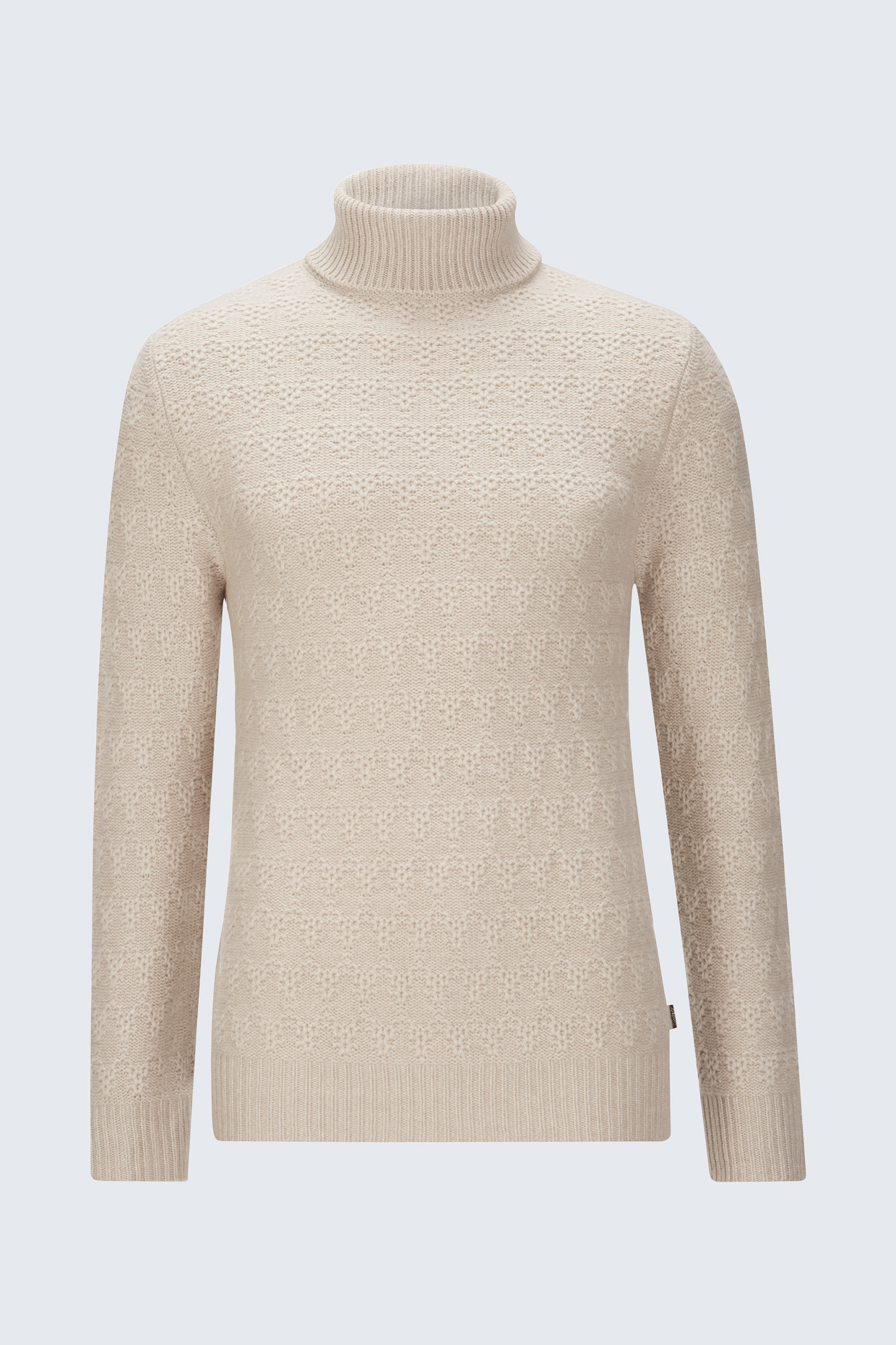 separation shoes e1f96 bfee0 Kaschmir-Wollmix Pullover Maurin in Beige