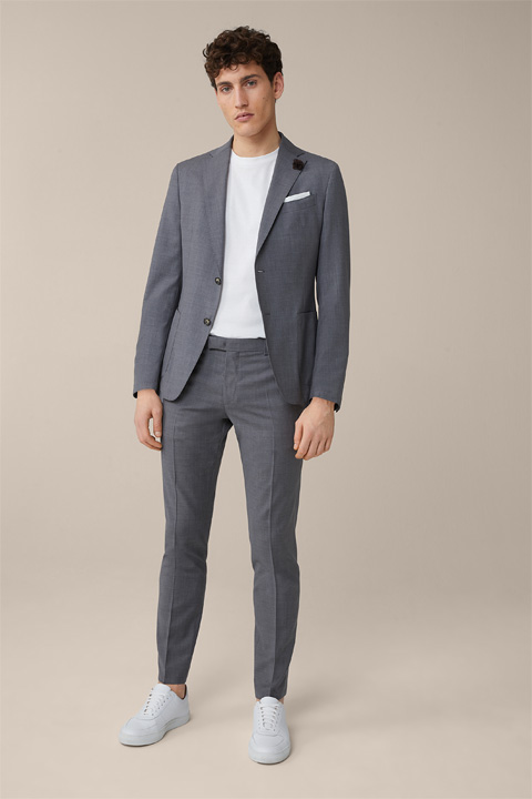 Peso Modular Travel Suit in Grey