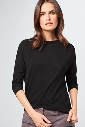 Oversize-Shirt in Schwarz