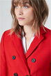Caban-Blazer in Rot