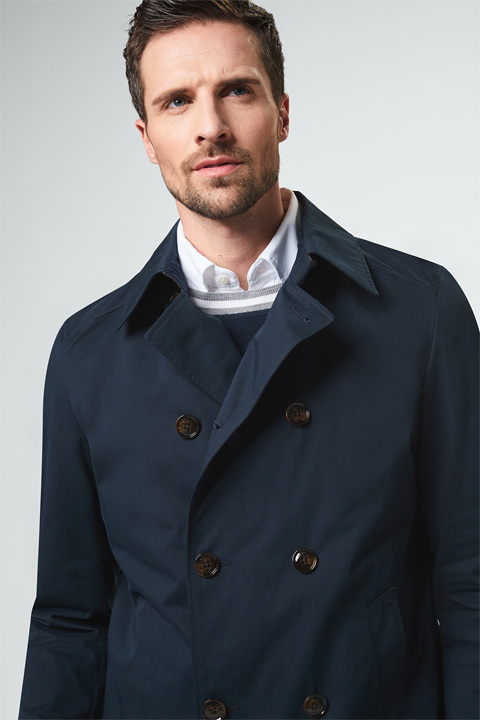 Trenchcoat Pogno in Navy