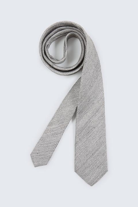 Krawatte in Grau gemustert