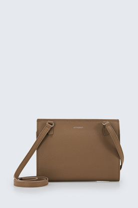 Messenger-Bag Cara in Taupe