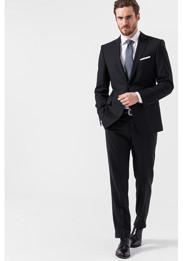 Baukasten-Anzug, schwarz