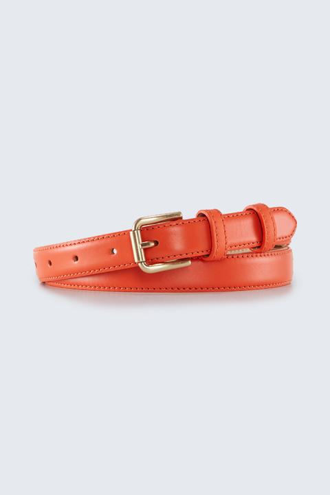 Gürtel in Orange
